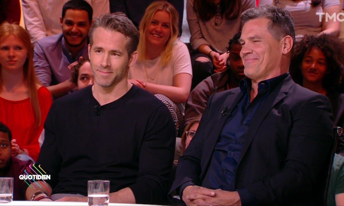 "Invités : Ryan Reynolds et Josh Brolin pour ""Deadpool 2"""