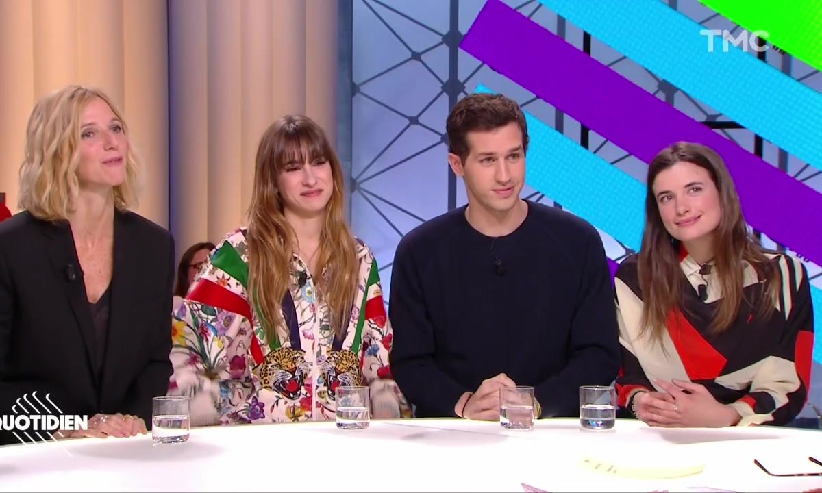 """Invités : Sandrine Kiberlain, Victor Belmondo, Thaïs Alessandrin et Camille Claris pour """"Mon bébé"""""""
