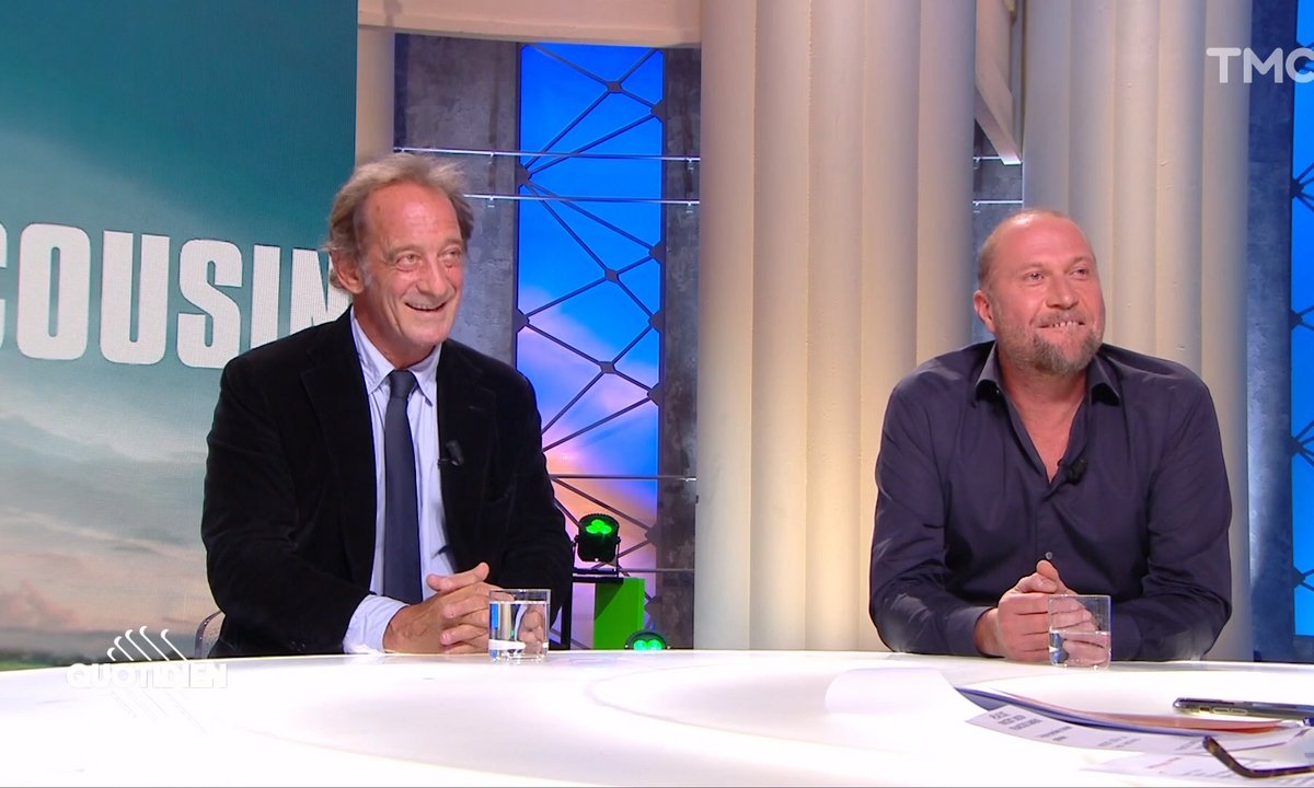 """Invités : Vincent Lindon et François Damiens, duo d'enfer pour """"Mon cousin"""""""
