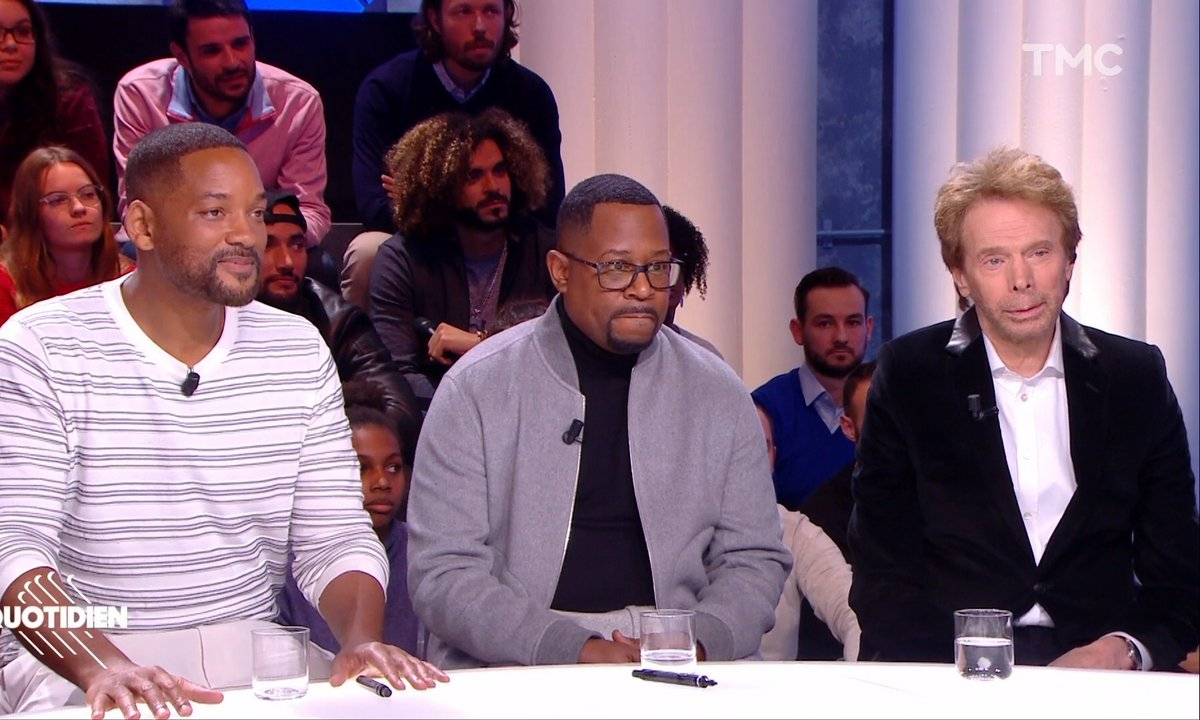 "Invités : Will Smith, Martin Lawrence, Jerry Bruckheimer pour le dernier ""Bad Boys"""