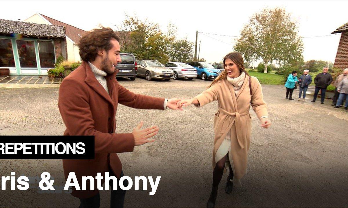 """Répétitions : """"les gens du Nord ouvrent leurs portes"""" à Iris Mittenaere et Anthony"""