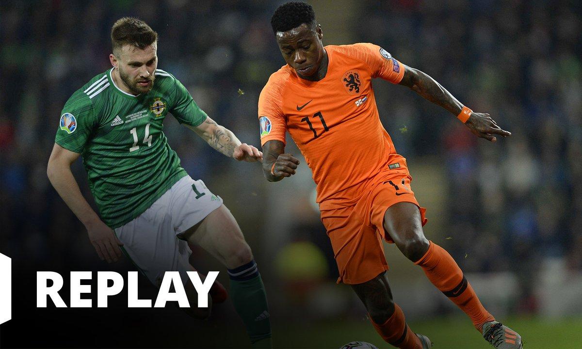 Irlande du Nord / Pays-Bas : revoir le match en intégralité