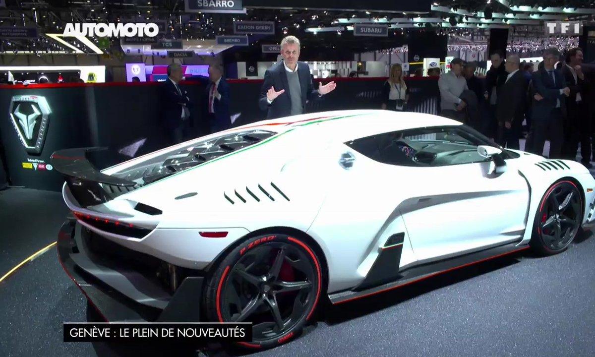 Italdesign : le supercar ZeroUno et le concept Pop.Up au Salon de Genève 2017