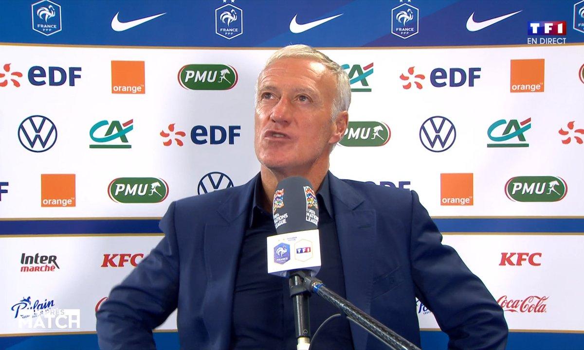 France - Croatie : Deschamps, Martial et Camavinga analysent le match