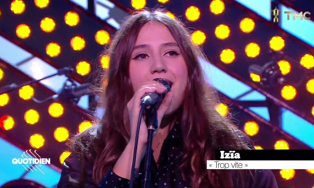 """Izïa Higelin : """"Trop vite"""" en live pour Quotidien"""