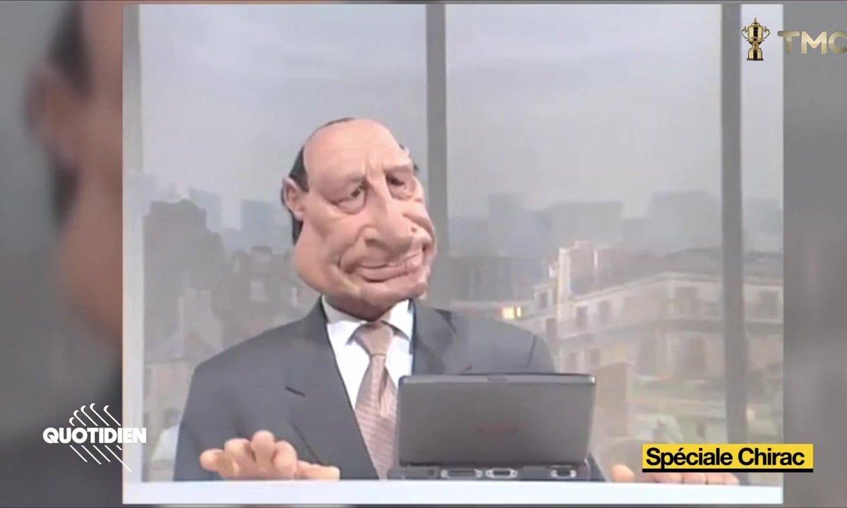 Jacques Chirac : et si les Guignols lui avaient permis de devenir président ?