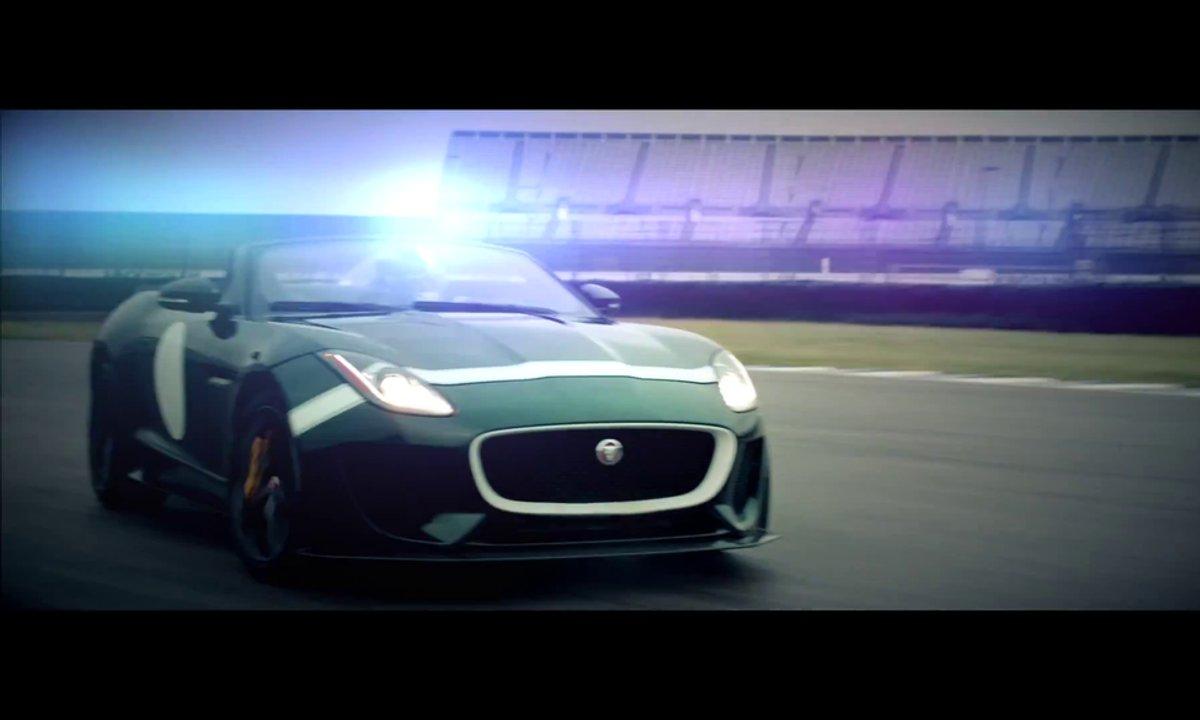 Jaguar F-Type Project 7 2014 : présentation officielle