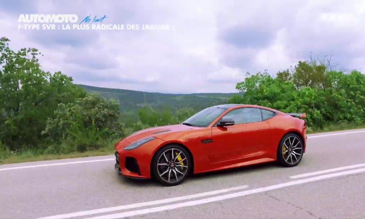 No Limit : La Jaguar F-Type SVR sur circuit