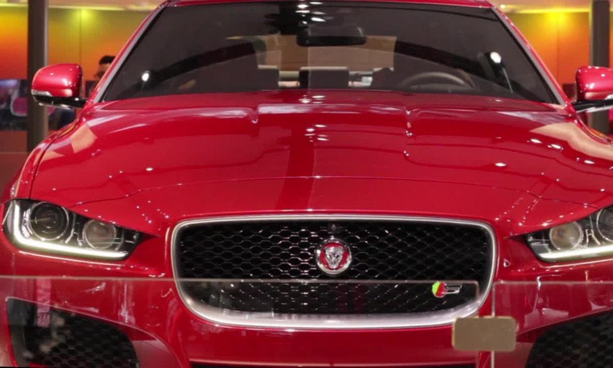 Jaguar XE, la crème de la crème anglaise - Mondial de l'Automobile 2014