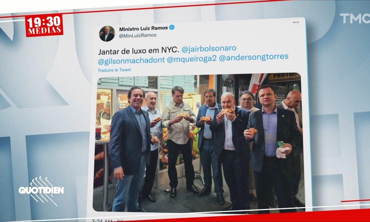 Jair Bolsonaro : sans pass sanitaire, le président brésilien reste sur le trottoir