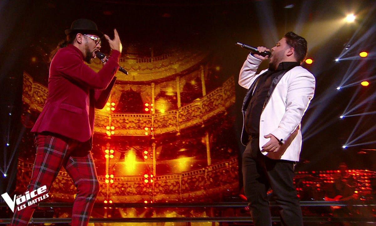 The Voice 2021 – Jaja VS Julien chantent « Le blues du business man » de Daniel Balavoine