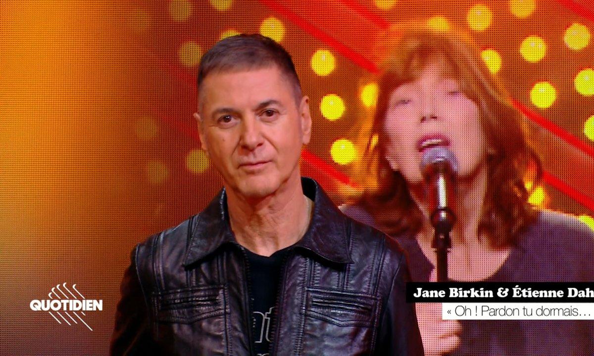 """Jane Birkin & Etienne Daho: """"Oh ! Pardon tu dormais"""" en live pour Quotidien"""