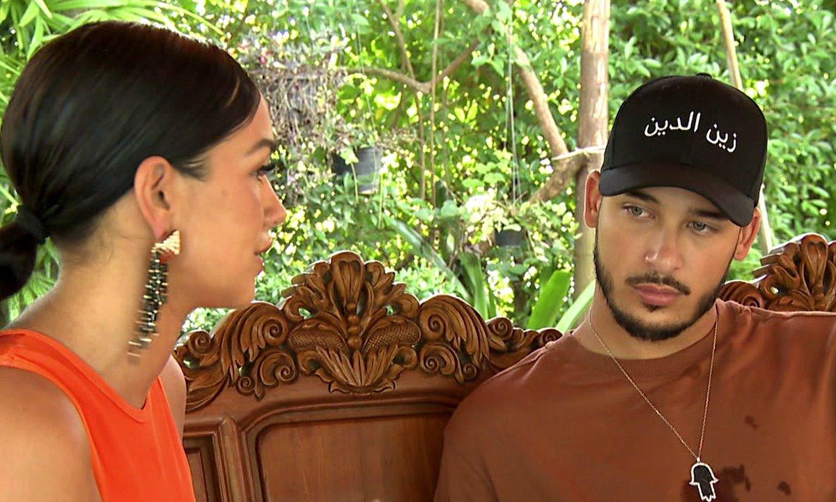 Jazz tente d'apaiser les tensions avec Laurent dans l'épisode 10 de la JLC Family
