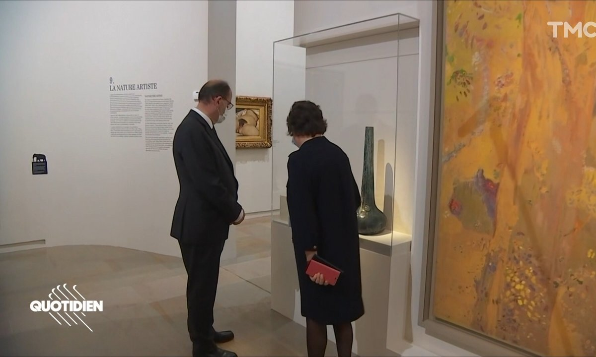 Jean Castex face à l'Origine du monde de Courbet : courage, fuyons !