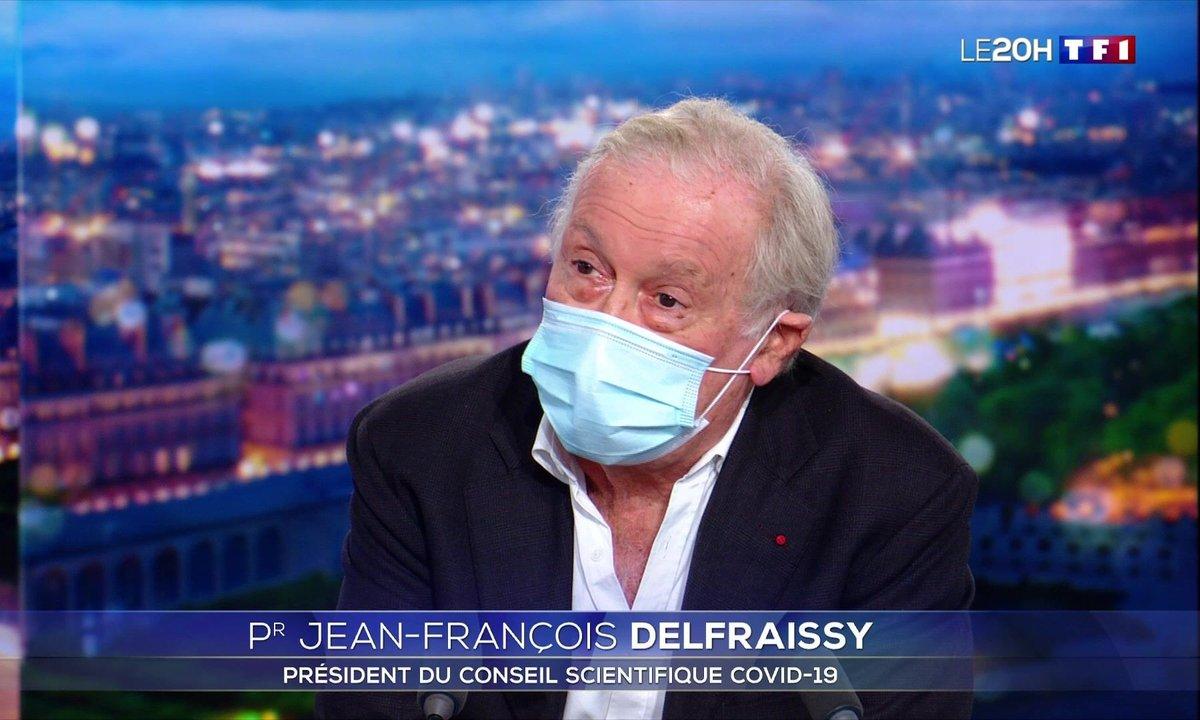 """Jean-François Delfraissy : """"Le meilleur barrage, c'est de poursuivre avec intensité les mesures barrières"""""""