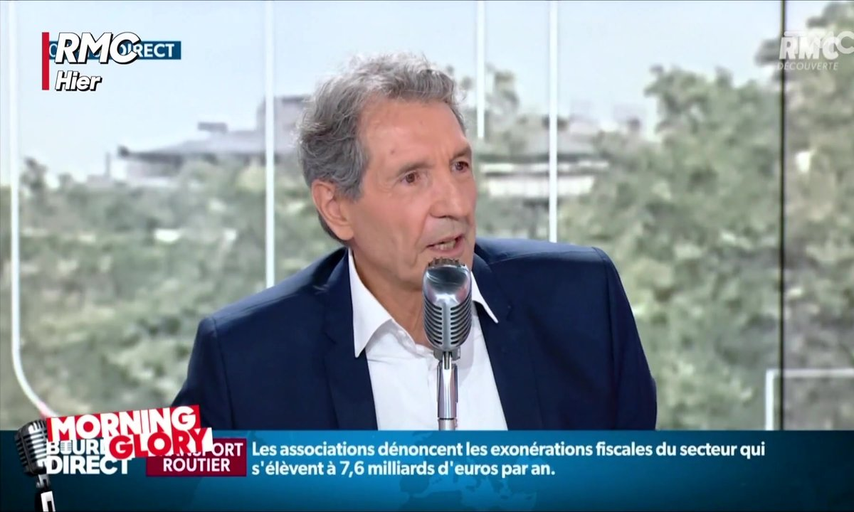 Jean-Jacques Bourdin pris en flagrant-délit d'inattention