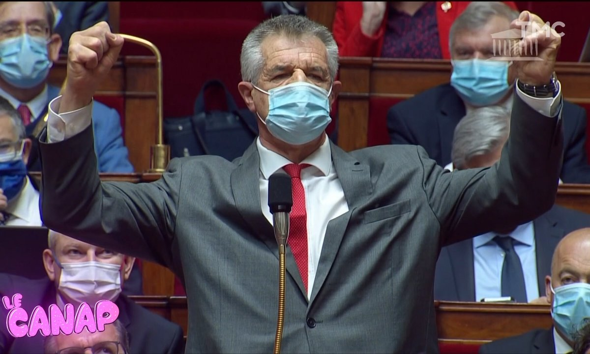 Jean Lassalle en très grande forme à l'Assemblée !