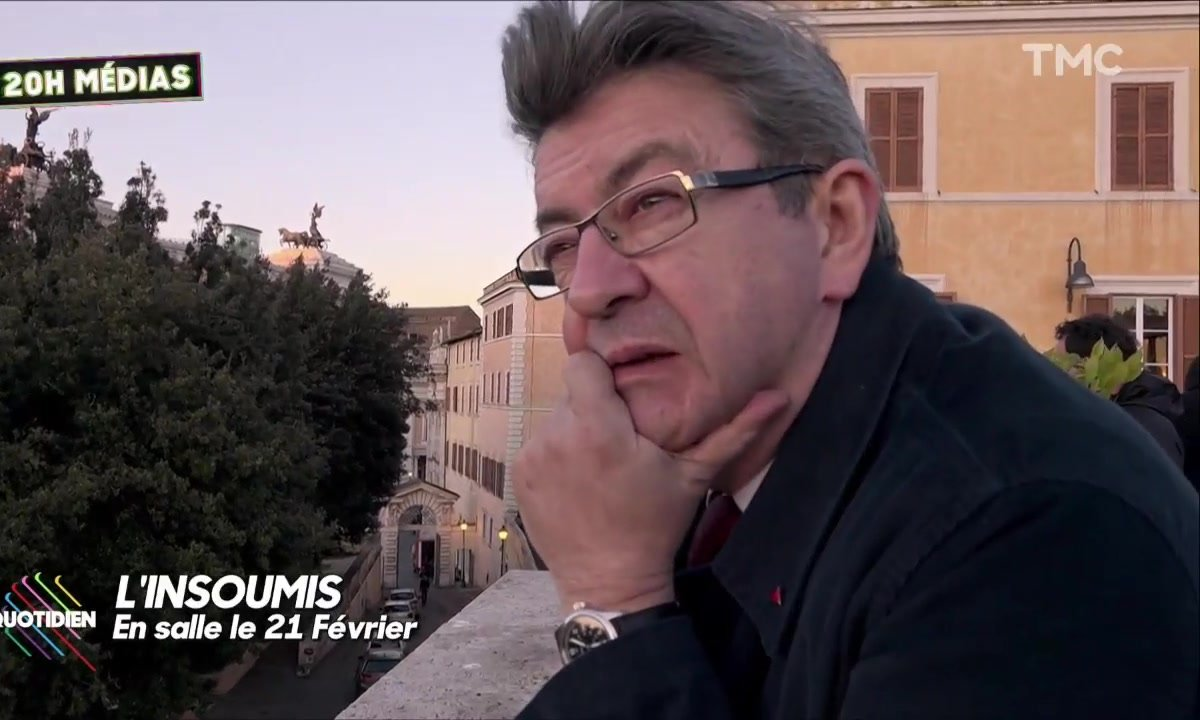"""20H Médias – Des images inédites de """"L'Insoumis"""", documentaire consacré à Jean-Luc Mélenchon"""