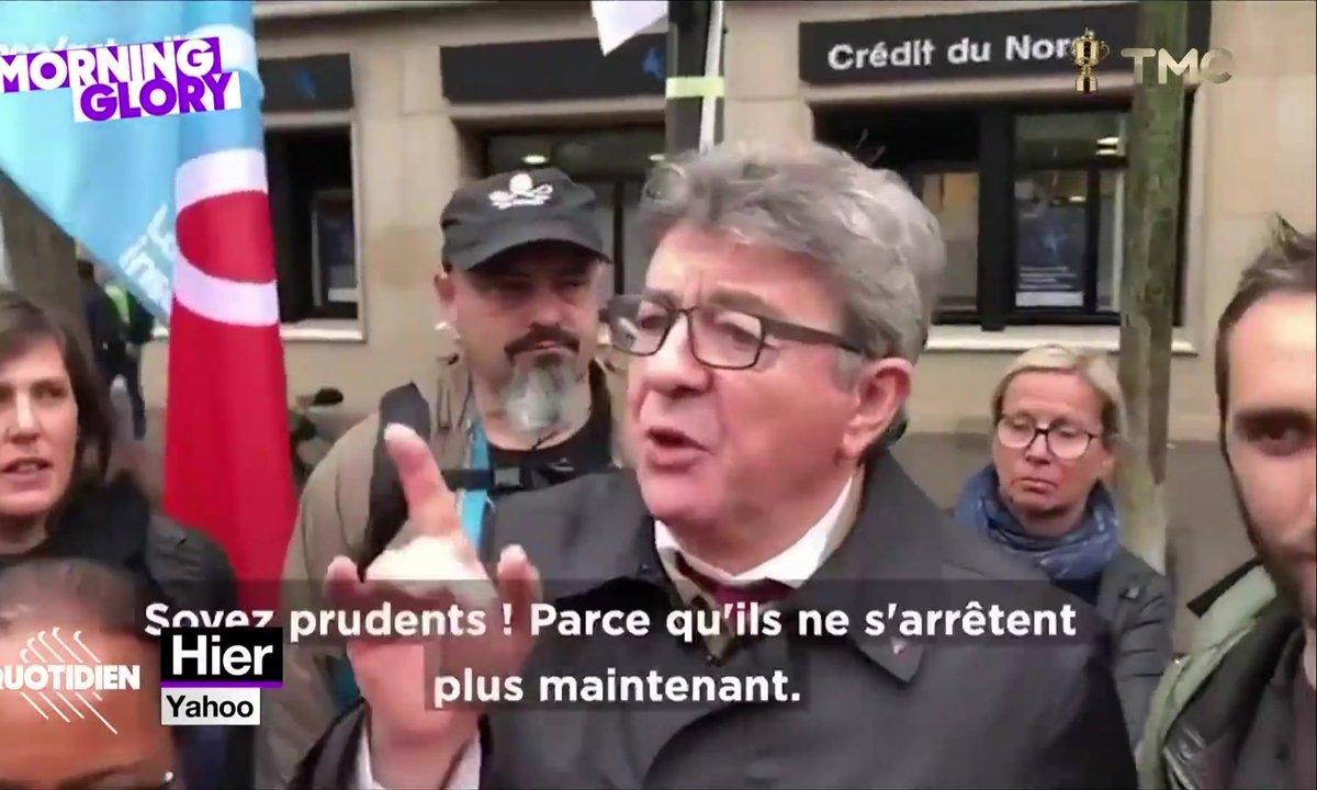 Jean-Luc Mélenchon insulte les policiers (et cette fois on n'y est pour rien)