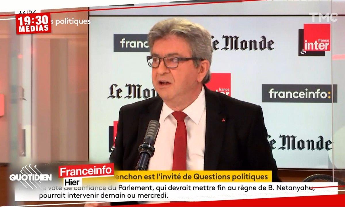 Jean-Luc Mélenchon : tentative de sauvetage ratée pour le patron des Insoumis