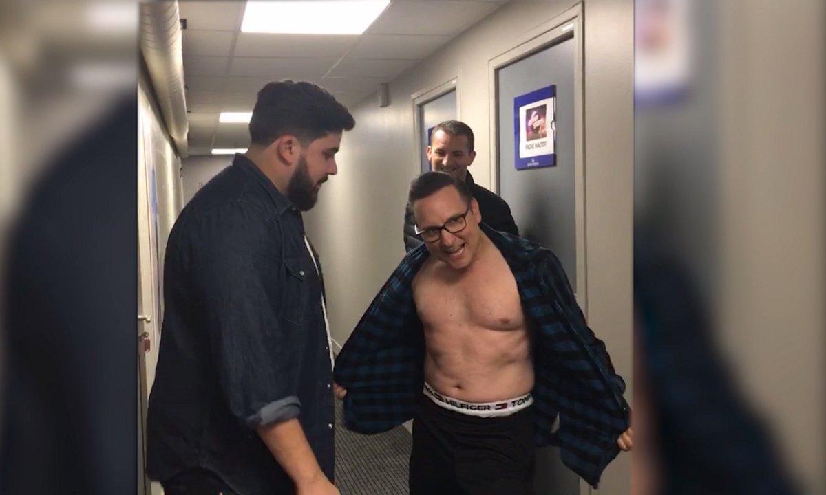 Jean-Marc Généreux fait tomber la chemise