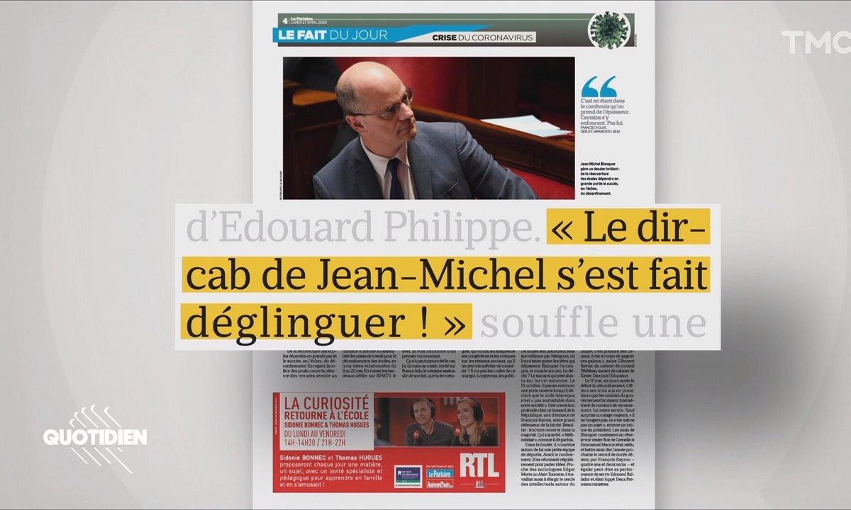 Jean-Michel Blanquer est-il devenu le cancre du gouvernement ?
