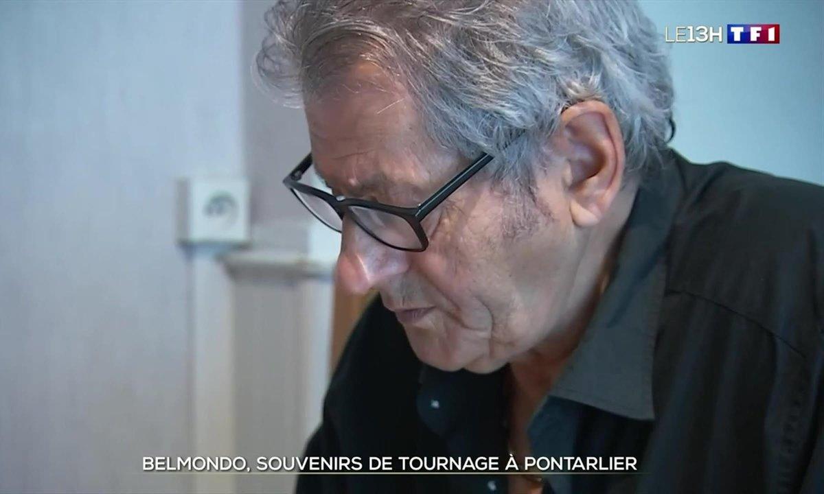 Jean-Paul Belmondo : souvenirs de tournage à Pontarlier