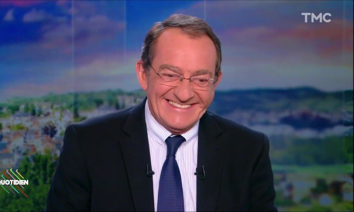 L'image du jour d'Etienne : quand la rédaction du 13h de TF1 souhaite un joyeux anniversaire à  Jean-Pierre Pernaut
