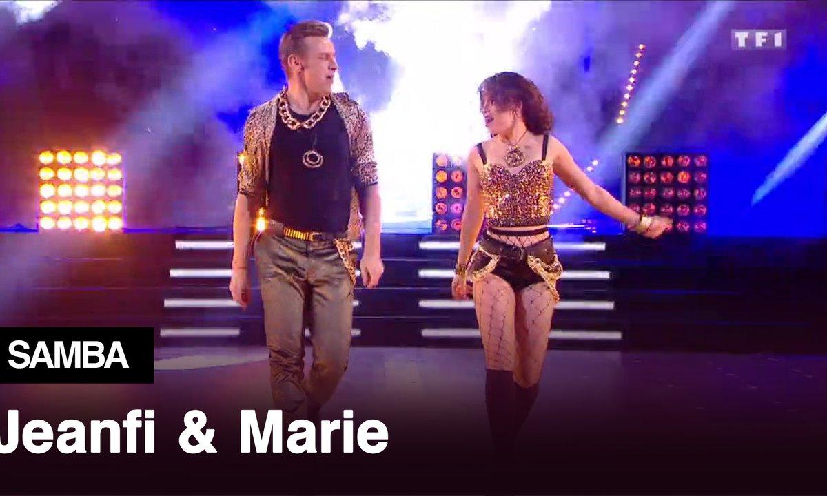 Jeanfi Janssens et Marie Denigot l Crazy in Love l Samba