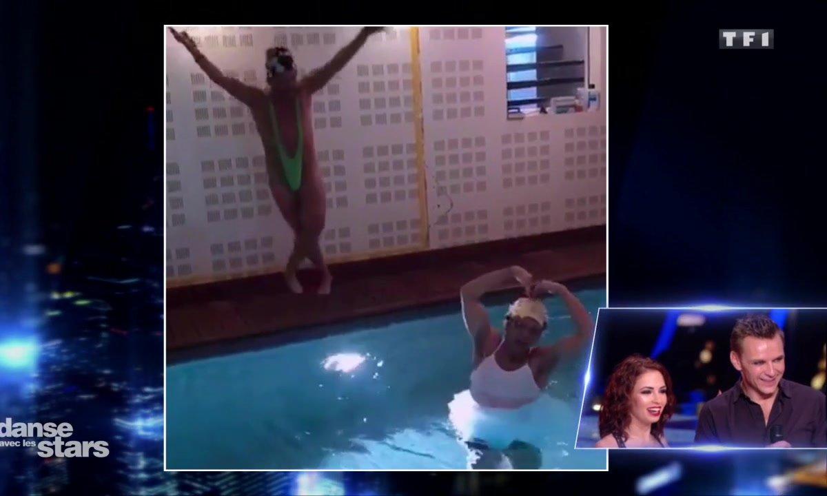 """Répétitions : Jeanfi Janssens """"trompe"""" Marie Denigot avec Stéphane Plaza"""