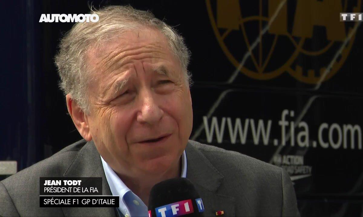 F1 - GP d'Italie : Interview de Jean Todt sur la sécurité en F1