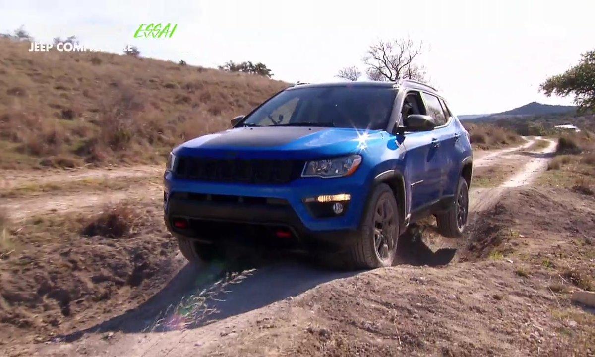 Essai Vidéo : La Jeep Compass 2017