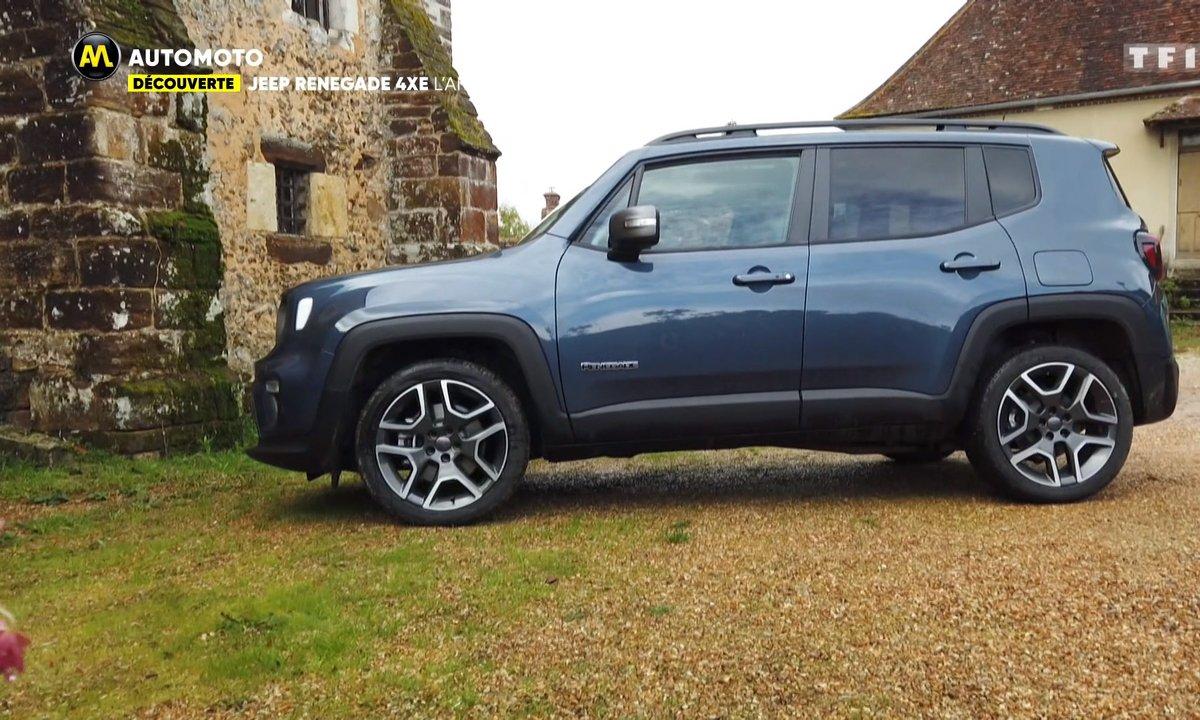 Découverte : Jeep Renegade 4xE, l'Amérique débarque en hybride