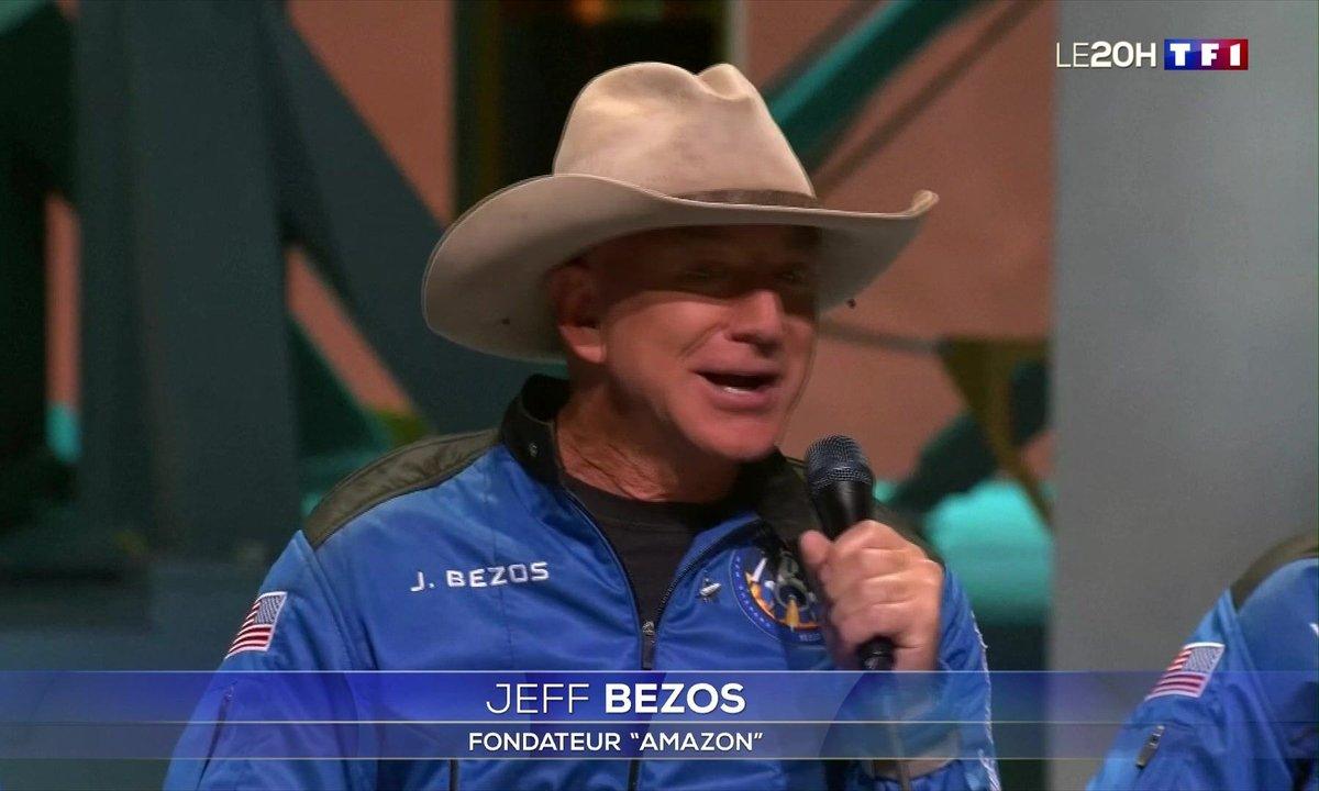 Jeff Bezos : l'espace, son nouveau terrain de jeu