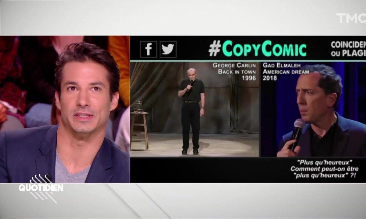 Jérémy Ferrari tacle Gad Elmaleh accusé de plagiat par CopyComic