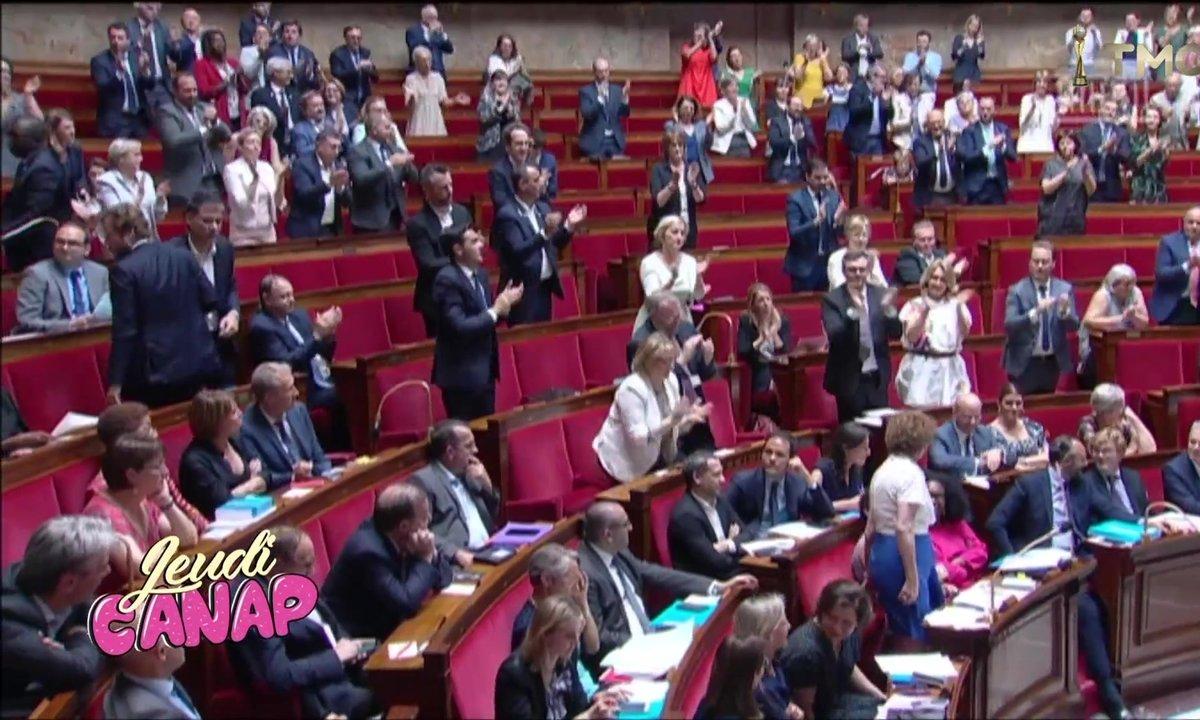 Jeudi Canap : la standing ovation de Muriel Pénicaud chez les Foufous de l'Assemblée