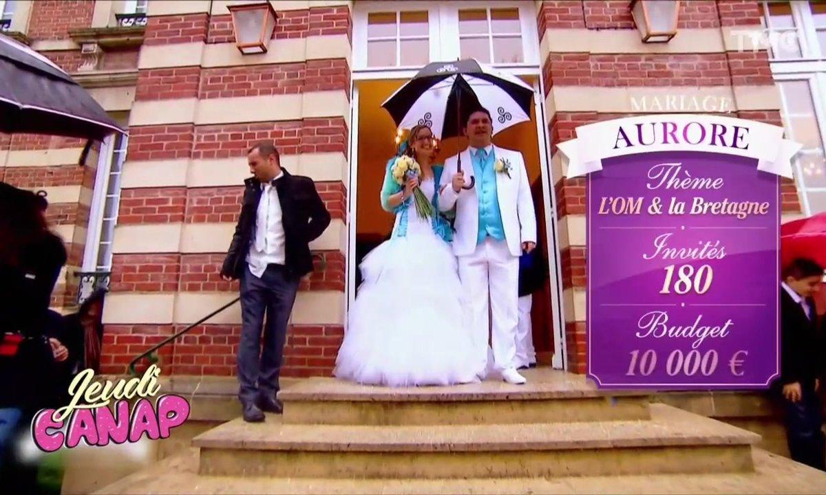 Jeudi Canap : un mariage sur le thème OM-Bretagne