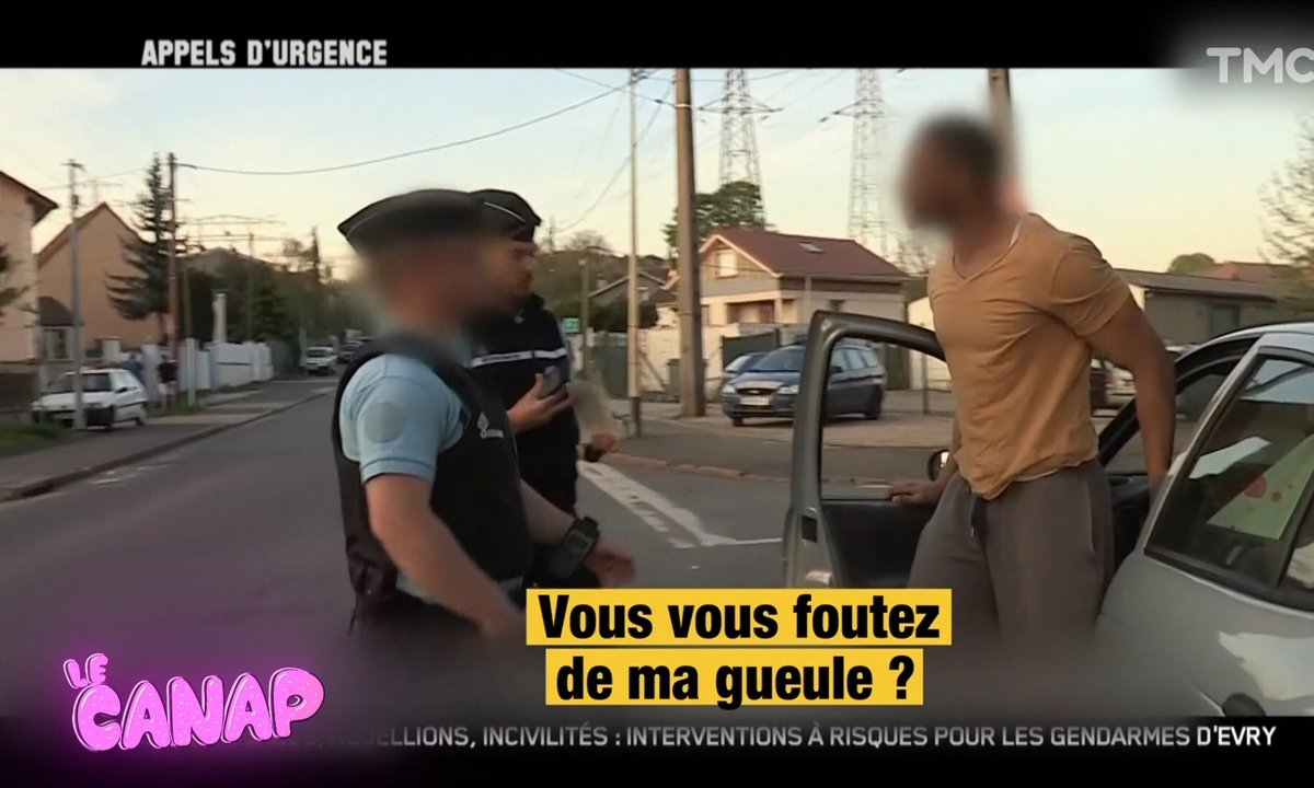 Jeudi Canap: vu dans Appels d'urgence, le gendarme qui a mal calculé la carrure du type qu'il verbalise