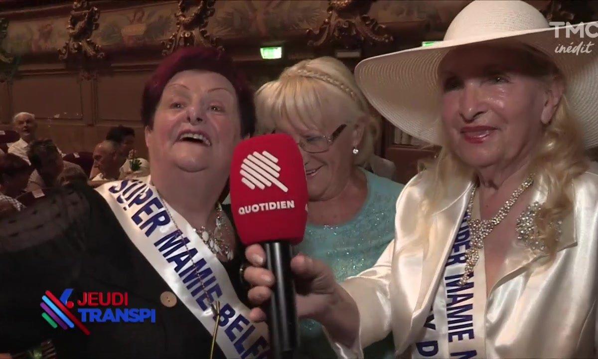 Jeudi transpi : Que des championnes à l'élection de Super Mamie