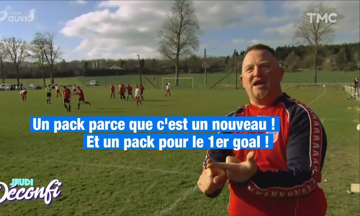 """Jeudi Transpi : on adore la """"prime de but"""" à la bière chez nos footballeurs belges"""