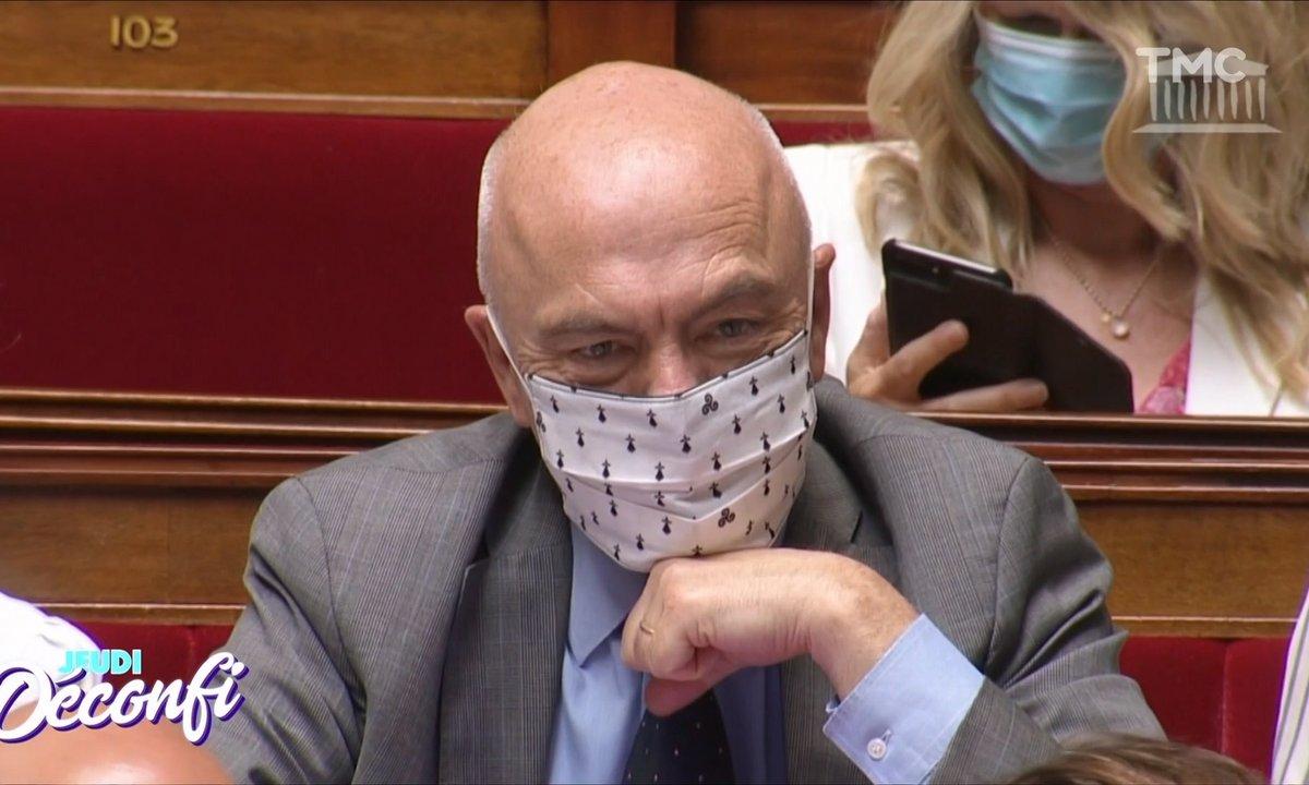 Jeudi Transpi : vu chez les Foufous de l'Assemblée, un masque régionaliste breton