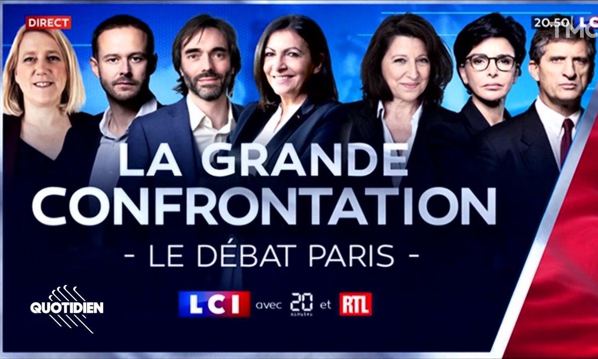 Jeux de mots, citations et drague : ce qu'il fallait retenir du débat pour les municipales à Paris