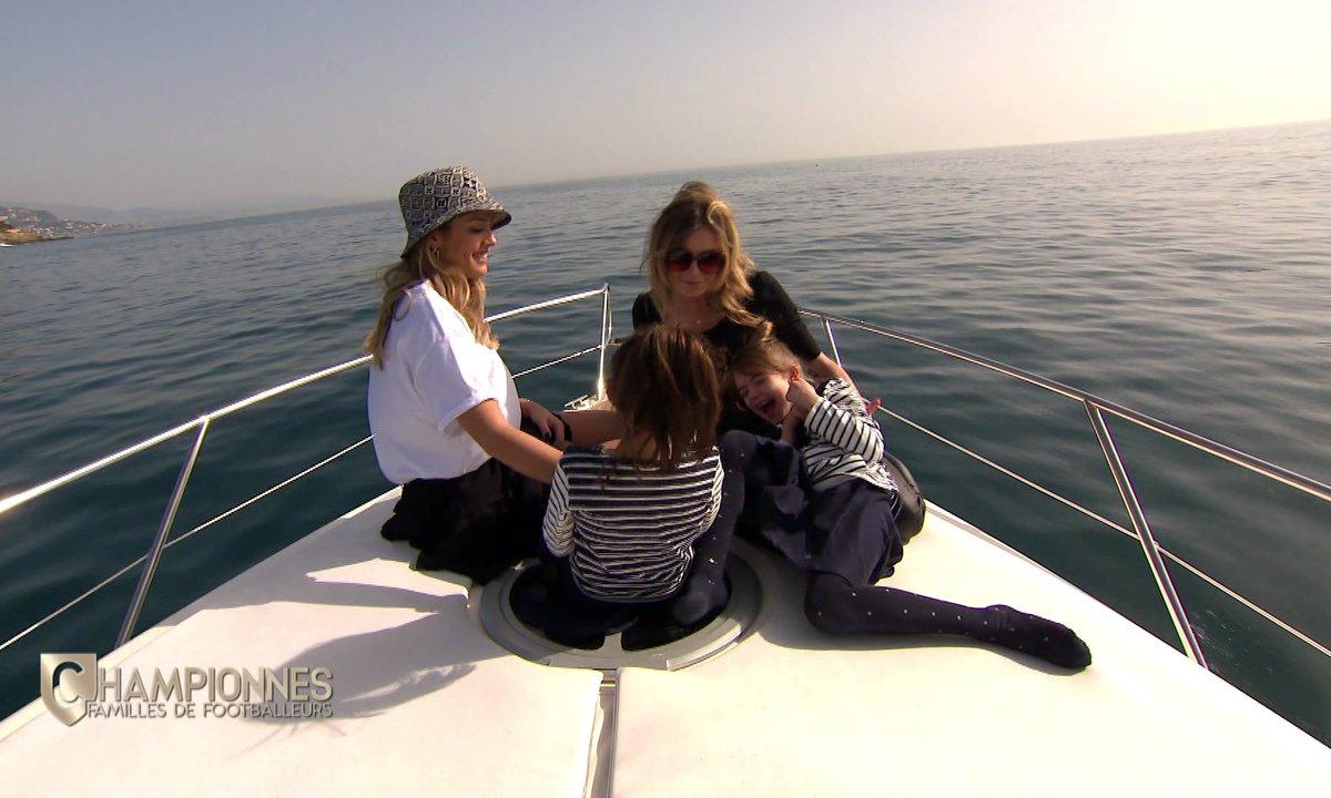Championnes – Joana Mendes et Cindy Lecomte s'offrent une virée en bateau