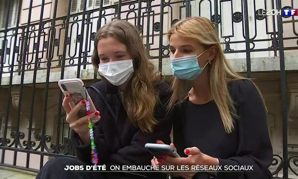 Jobs d'été : on embauche sur les réseaux sociaux