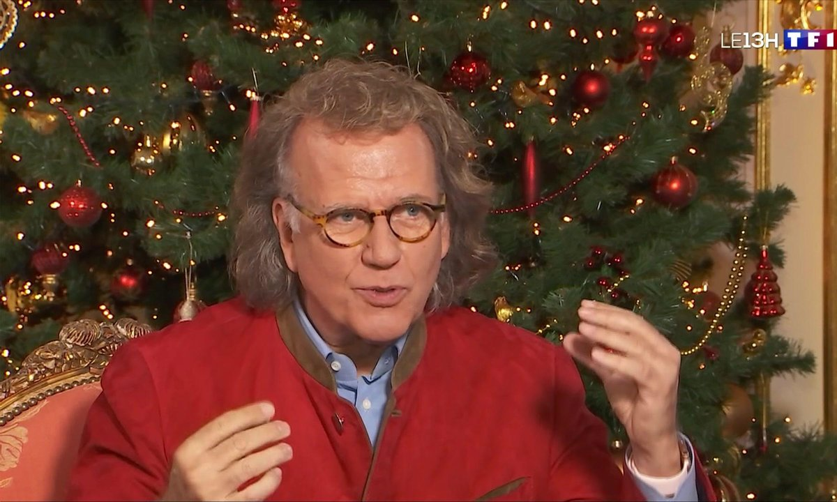 """Jolly Holiday"", le nouvel album de chansons de Noël d'André Rieu"
