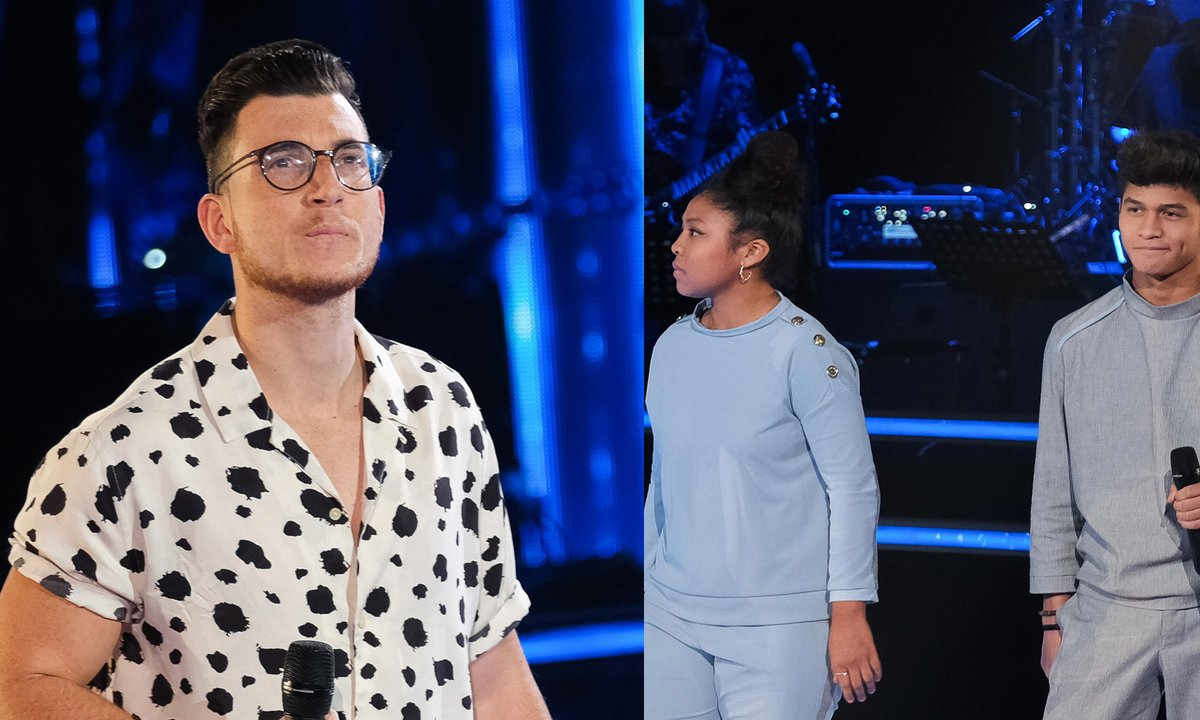 "THE VOICE 2020 - Jonathan VS LudySoa et Nathan chantent ""Chanter pour ceux"" de Michel Berger"
