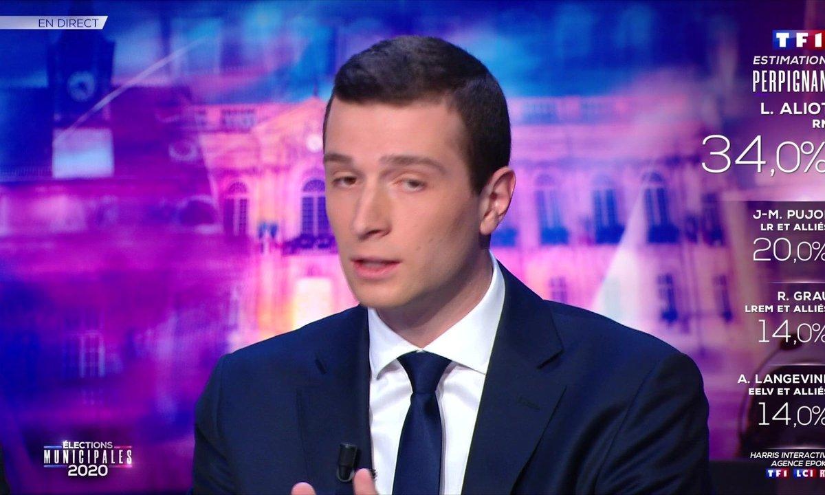 """Jordan Bardella : """"Si la décision est prise par le gouvernement de reporter le second tour des élections municipales, alors nous appuierons cette mesure sans aucune difficulté"""""""