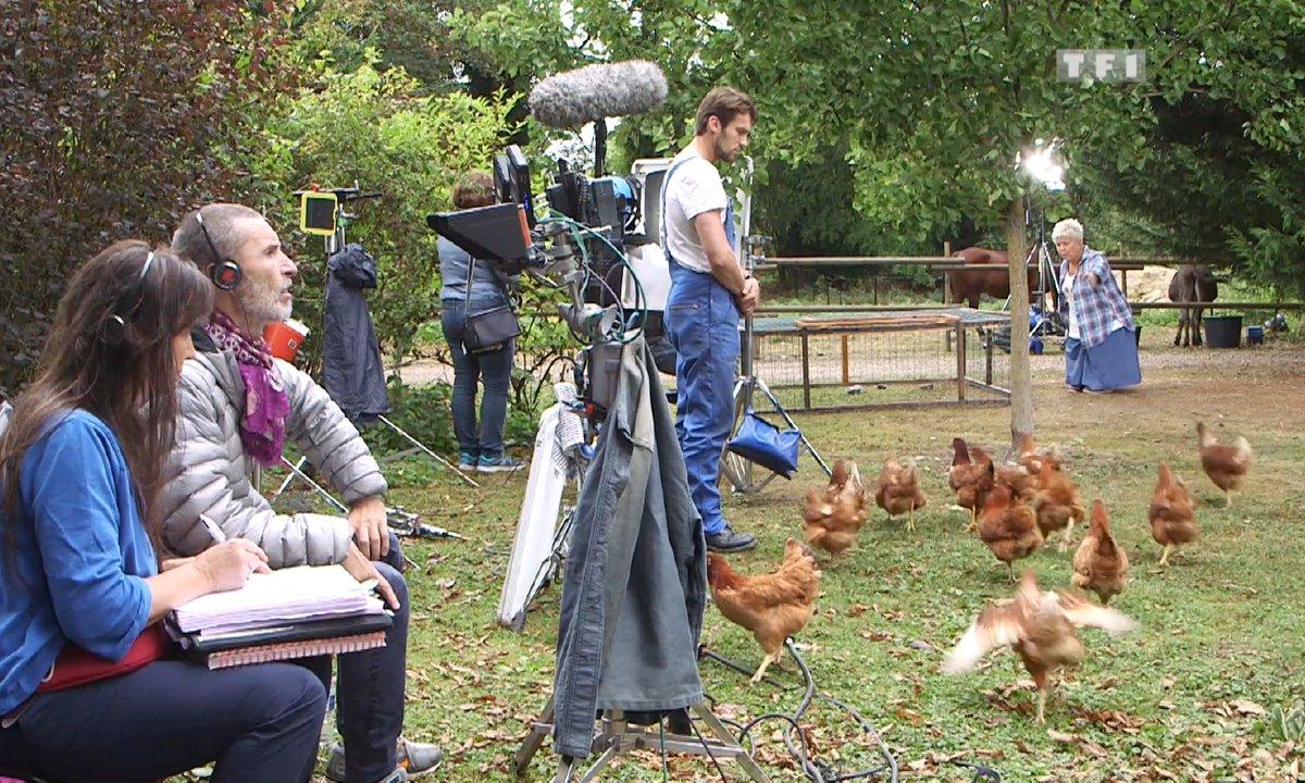 Secret de tournage : Comment Joséphine a dompté les poules ?