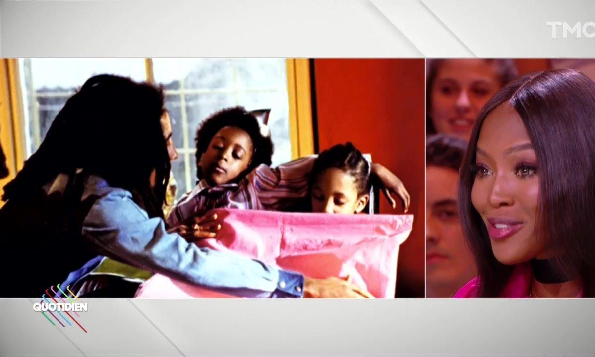 Le jour où Naomi Campbell a tourné dans le clip de Bob Marley