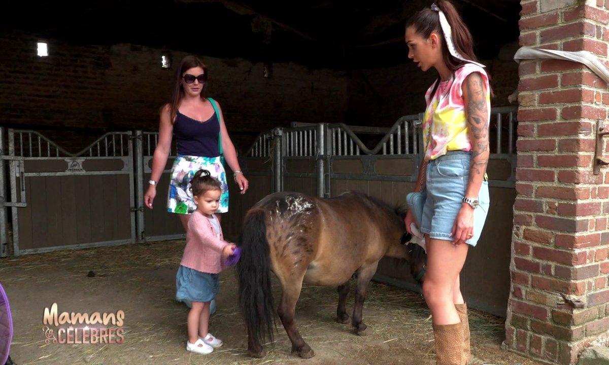 Journée à la ferme : Luna aux anges, Julia en panique !